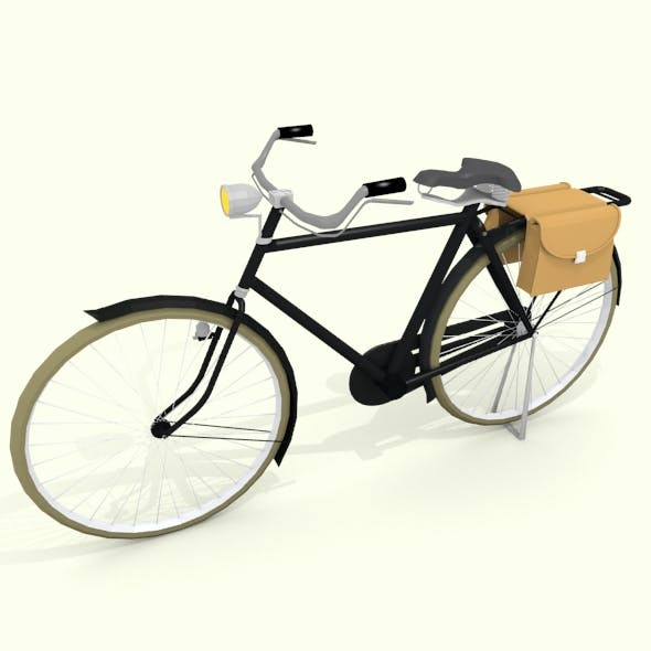 Onthel Bicycle - 3DOcean Item for Sale