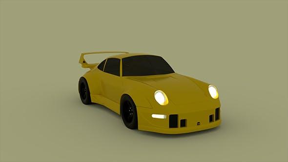 Porsche 911 993 RWB - 3DOcean Item for Sale