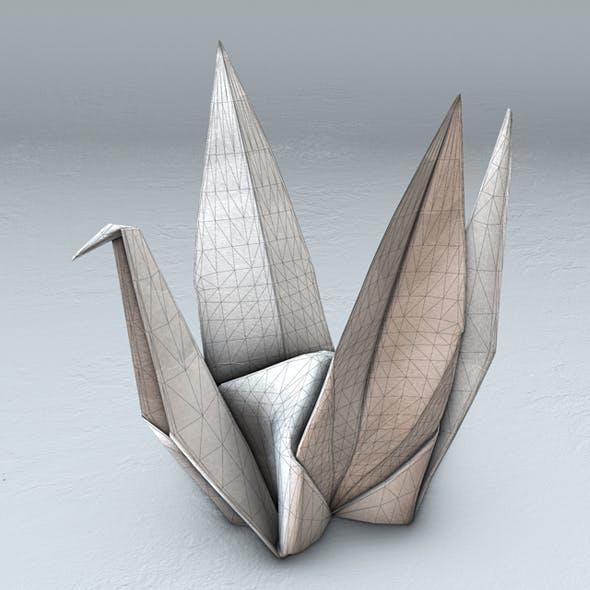 Thousand paper cranes - 3DOcean Item for Sale