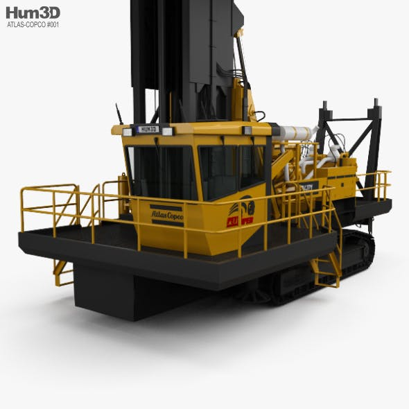 Atlas-Copco PV-271 Drill Rig 2017 - 3DOcean Item for Sale