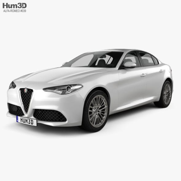 Alfa Romeo Giulia 2016 - 3DOcean Item for Sale