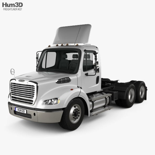 Freightliner M2 112 Day Cab Tractor Truck 3-axle 2011 - 3DOcean Item for Sale