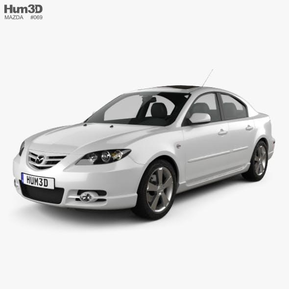 Mazda 3 sedan S 2005 - 3DOcean Item for Sale