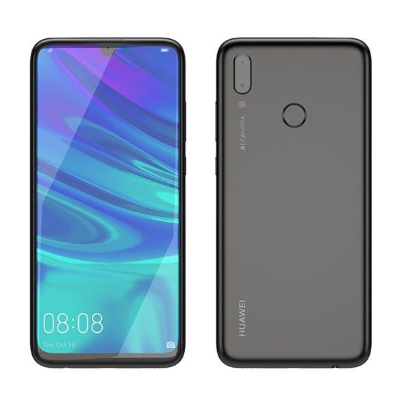 Huawei P Smart 2019 Black - 3DOcean Item for Sale