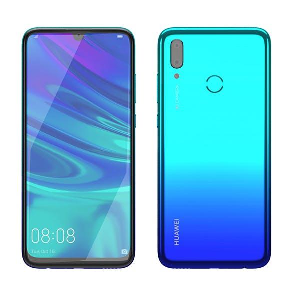 Huawei P Smart 2019 Aurora Blue - 3DOcean Item for Sale