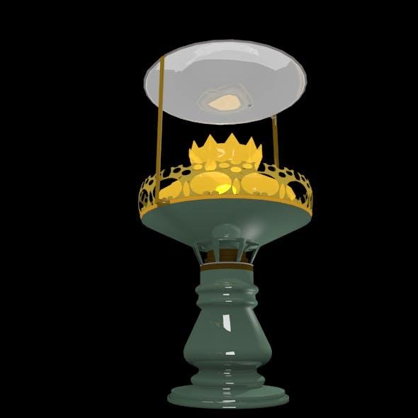 Vintage Lantern - 3DOcean Item for Sale