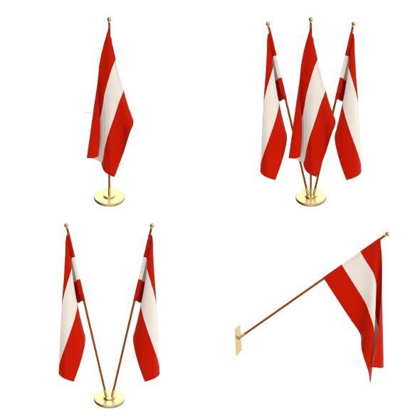 Austria Flag Pack - 3DOcean Item for Sale