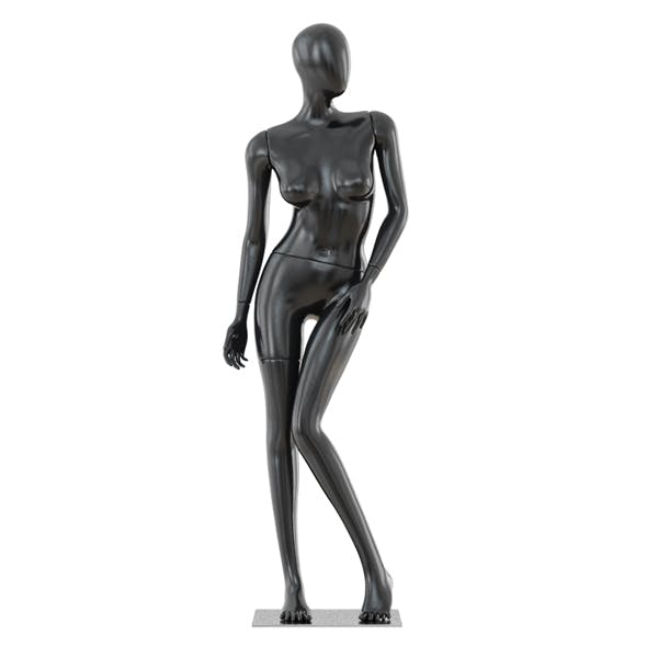 Abstract female mannequin 04 - 3DOcean Item for Sale