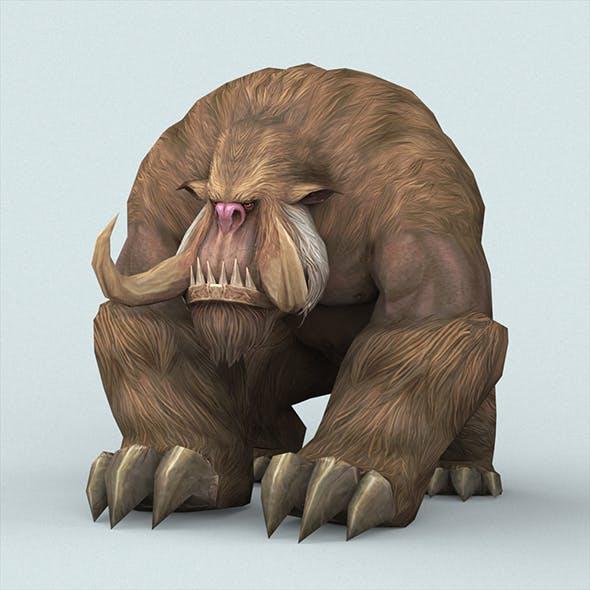 Fantasy Monster Monkey - 3DOcean Item for Sale