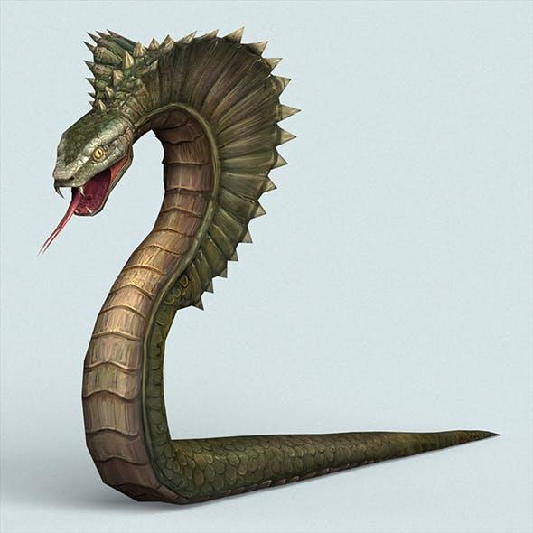 Fantasy Monster Python - 3DOcean Item for Sale