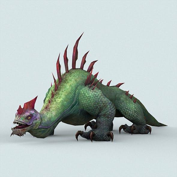 Fantasy Monster Lizard