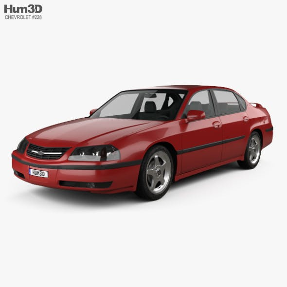 Chevrolet Impala SS 2004 - 3DOcean Item for Sale