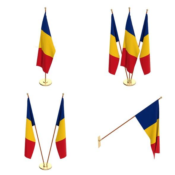 Romania Flag Pack - 3DOcean Item for Sale
