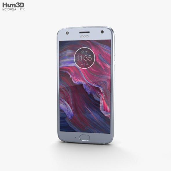 Motorola Moto X4 Sterling Blue - 3DOcean Item for Sale