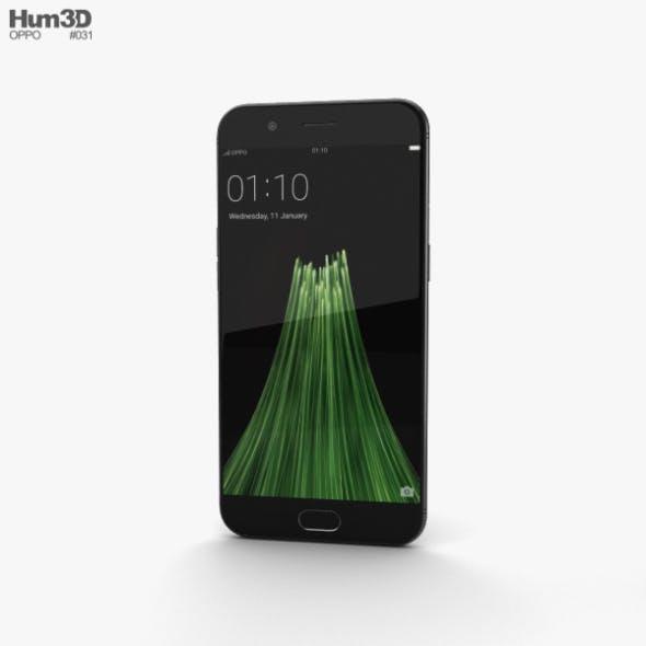 Oppo R11 Black - 3DOcean Item for Sale