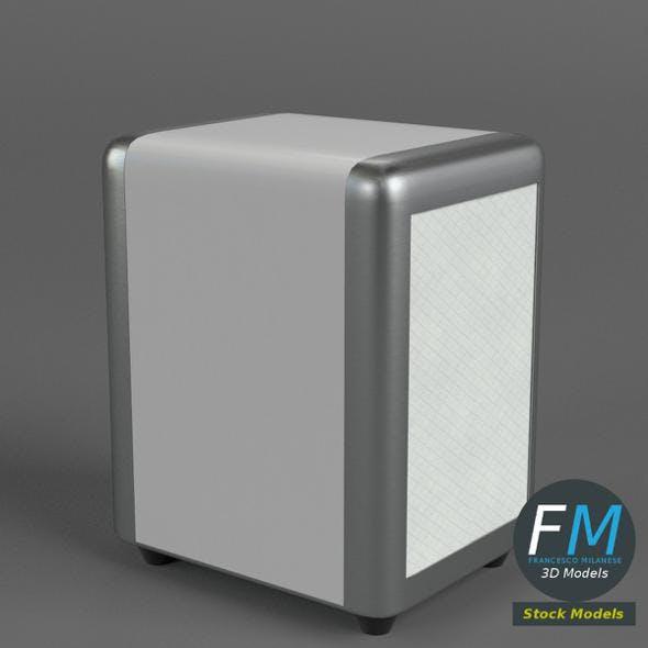 Napkin dispenser 1 - 3DOcean Item for Sale