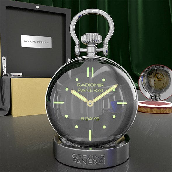 Table clock - 3DOcean Item for Sale