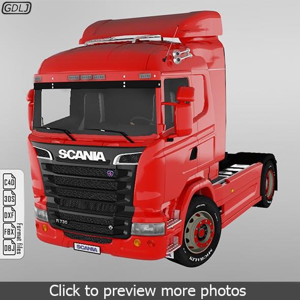 Scania R730 V8 Truck - 3DOcean Item for Sale