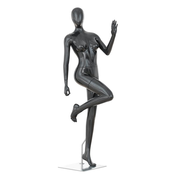Abstract female mannequin 05 - 3DOcean Item for Sale