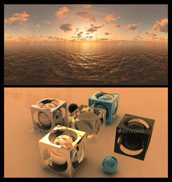 Golden Hour 9 - HDRI - 3DOcean Item for Sale