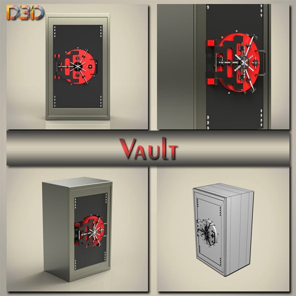 Vault - 3DOcean Item for Sale
