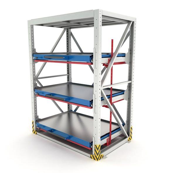 Heavy-duty rack - 3DOcean Item for Sale
