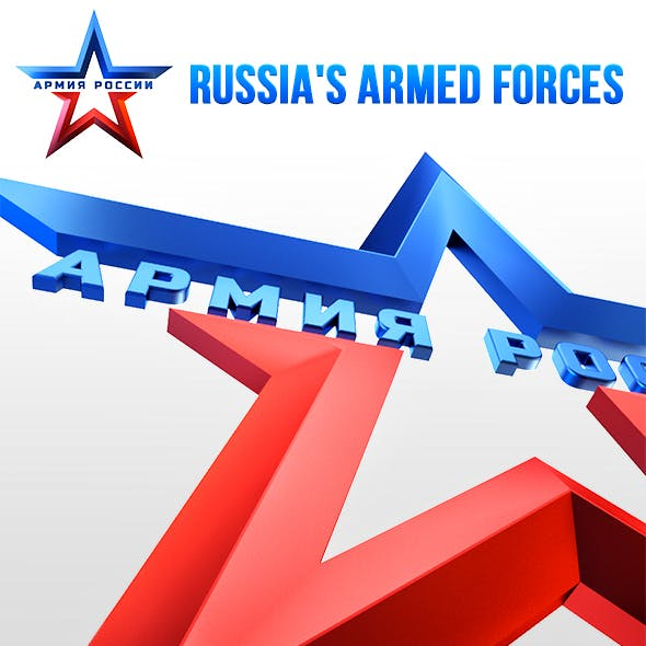 3D Russian armed forces