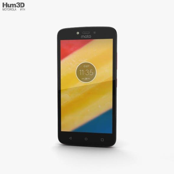 Motorola Moto C Plus Metallic Cherry - 3DOcean Item for Sale