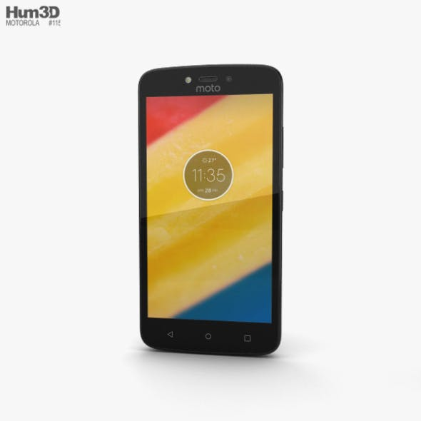 Motorola Moto C Plus Starry Black