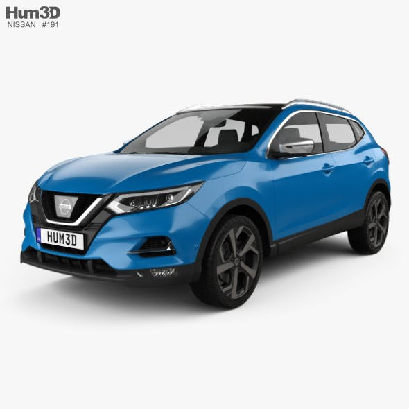 Nissan Qashqai 2017 - 3DOcean Item for Sale