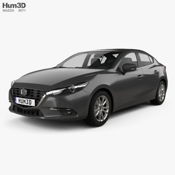 Mazda 3 BM sedan 2017 - 3DOcean Item for Sale