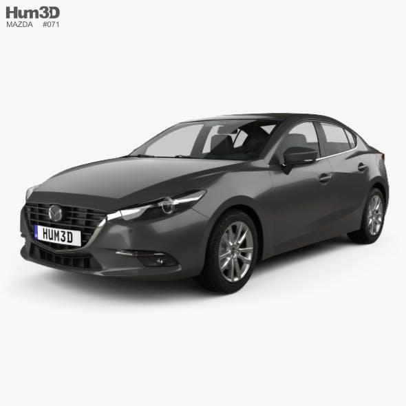 Mazda 3 BM sedan 2017 - 3DOcean Item for Sale