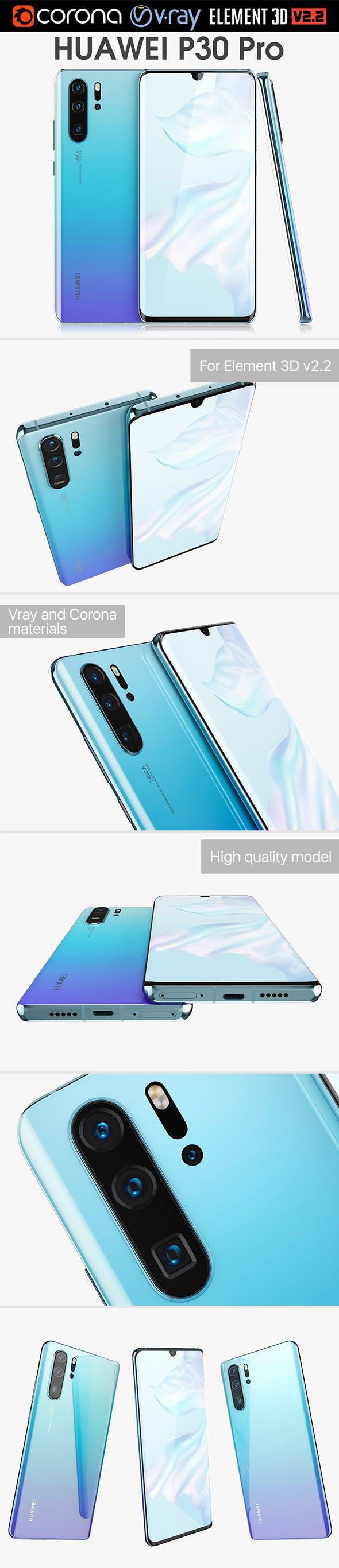 Huawei P30 Pro Breathing Crystal - 3DOcean Item for Sale