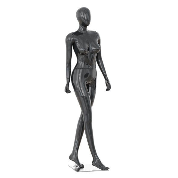 Abstract female mannequin 06 - 3DOcean Item for Sale