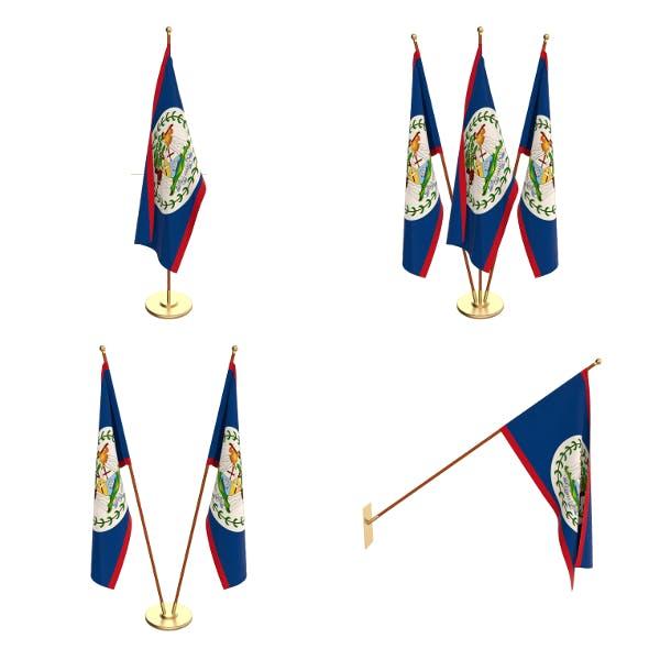 Belize Flag Pack