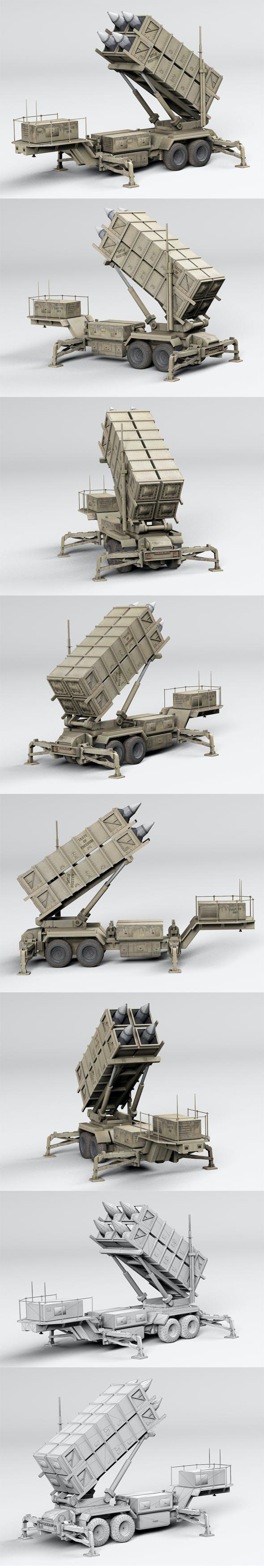 Patriot complex - 3DOcean Item for Sale
