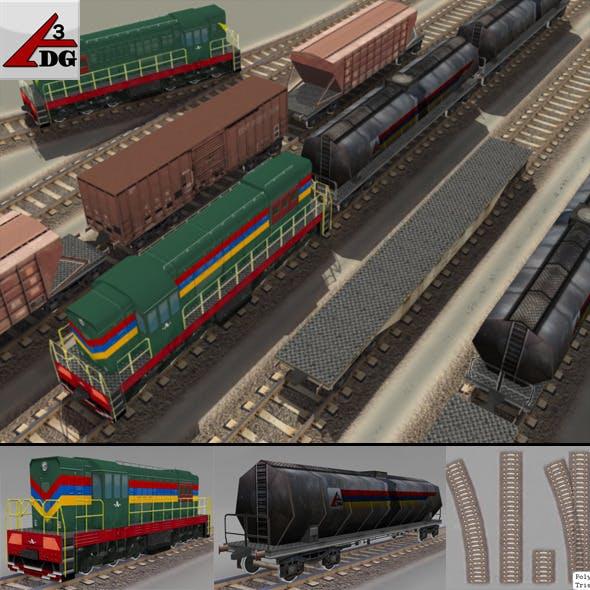 train (lowPoly)
