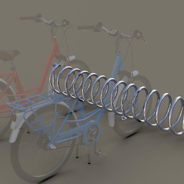 Spiral Bike Stand
