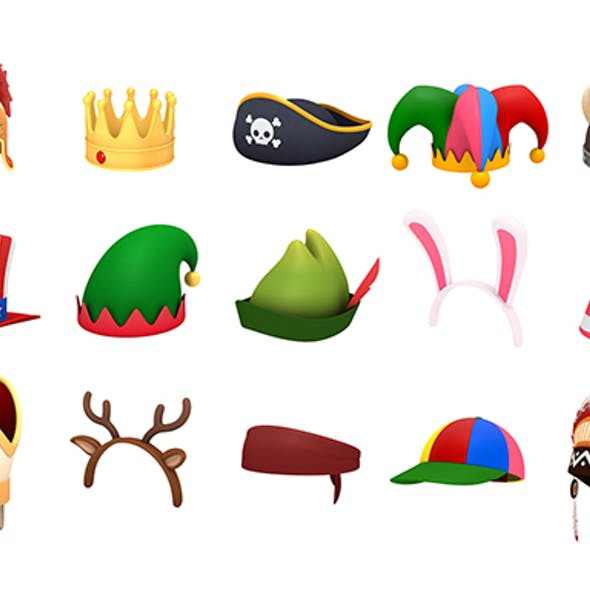 Hats and Helmet Pack 2