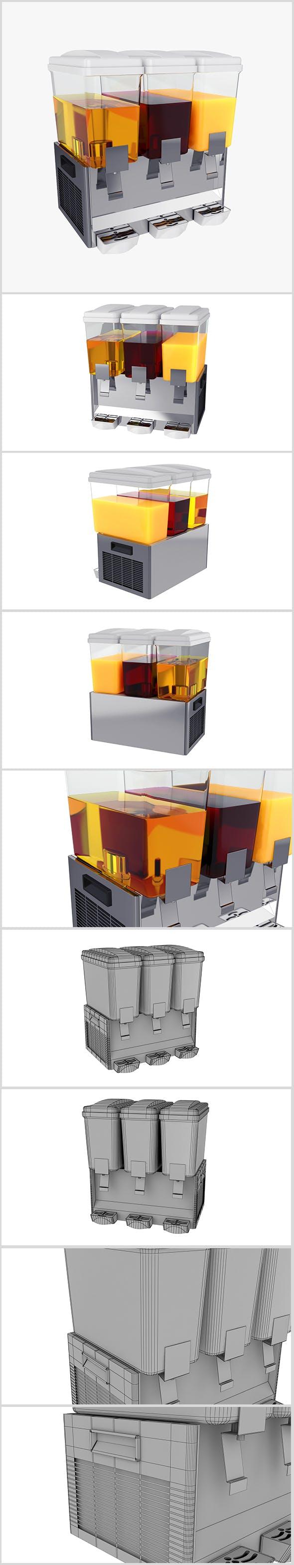 Juice Dispenser - 3DOcean Item for Sale