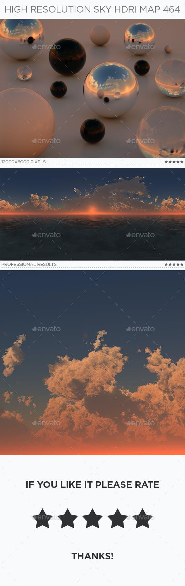 High Resolution Sky HDRi Map 464 - 3DOcean Item for Sale