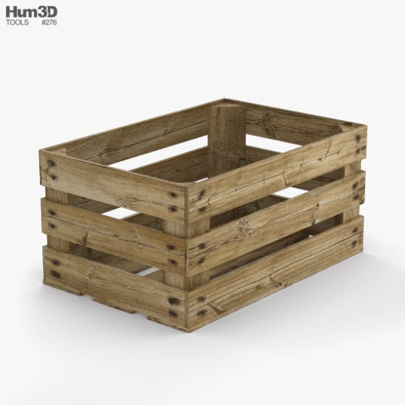 Fruit Crate - 3DOcean Item for Sale