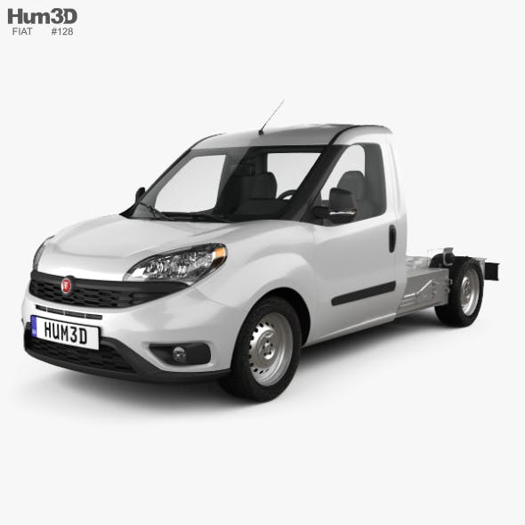 Fiat Doblo Chassis L2 2015 - 3DOcean Item for Sale