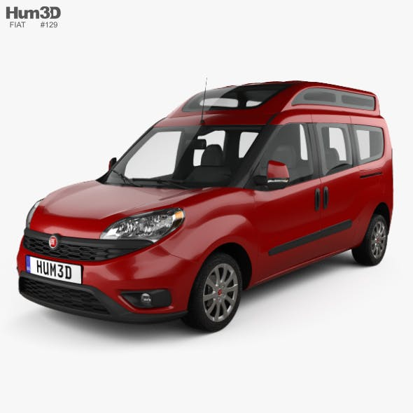 Fiat Doblo Combi L2H2 2015 - 3DOcean Item for Sale