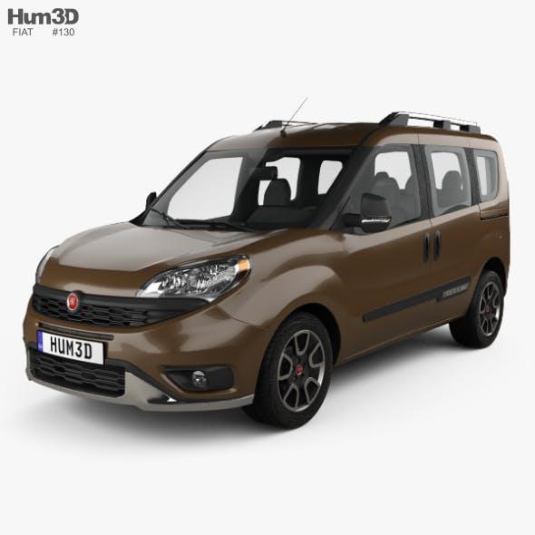 Fiat Doblo Trekking 2015 - 3DOcean Item for Sale