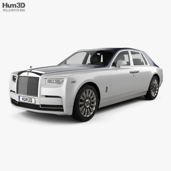 Rolls-Royce Phantom 2018 - 3DOcean Item for Sale