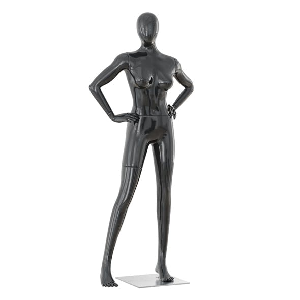 Abstract female mannequin 07 - 3DOcean Item for Sale