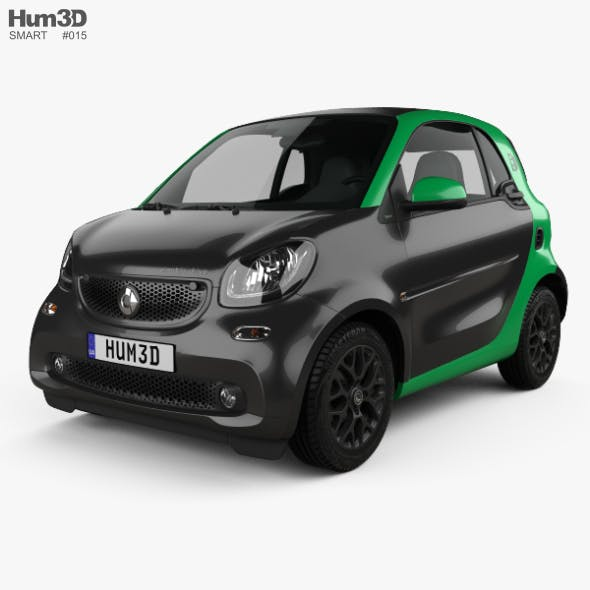 Smart ForTwo Electric Drive coupe 2017 - 3DOcean Item for Sale