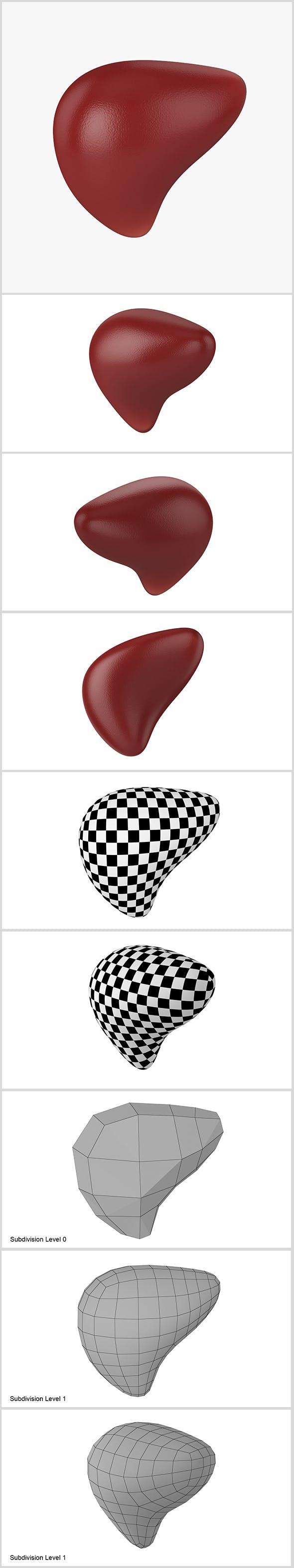 Liver - 3DOcean Item for Sale