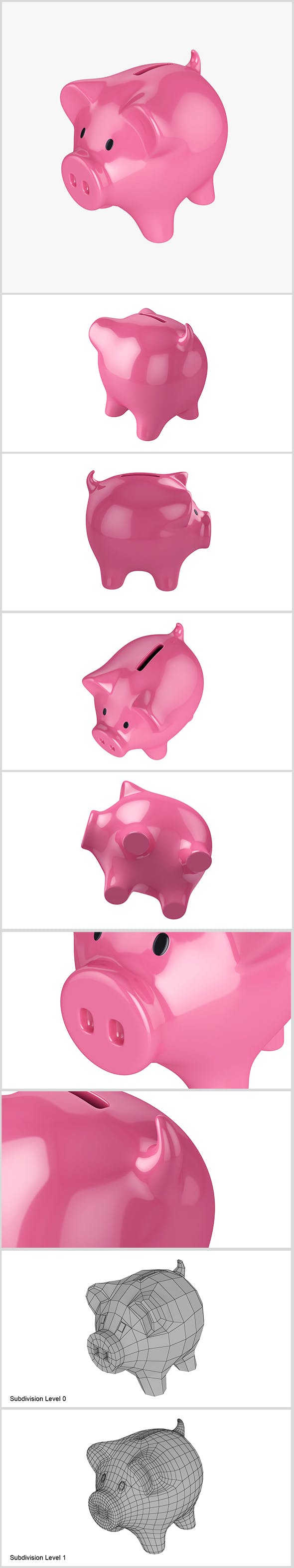 Money box pig - 3DOcean Item for Sale